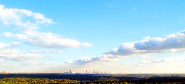 Atlanta Fall Skyline 1