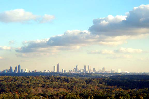Atlanta Fall Skyline 11
