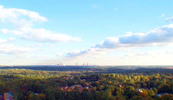 Atlanta Fall Skyline 3
