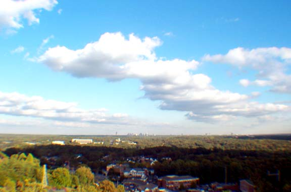 Atlanta Fall Skyline 5