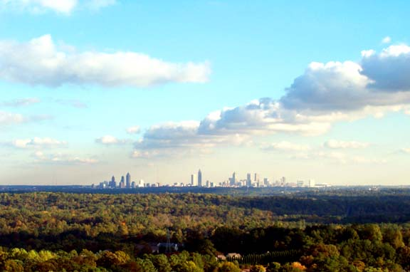 Atlanta Fall Skyline 6