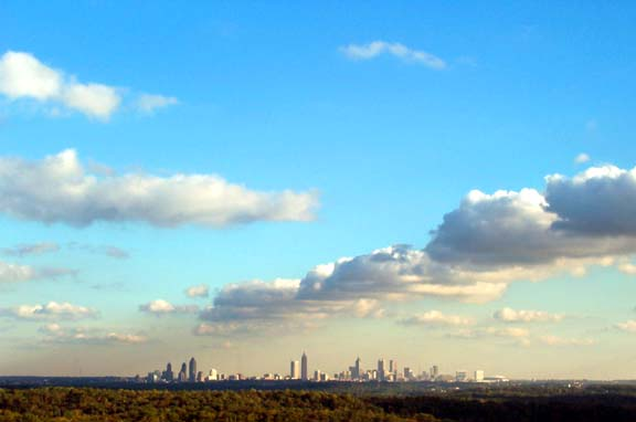 Atlanta Fall Skyline 7