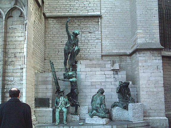 Cathedral Statues 2