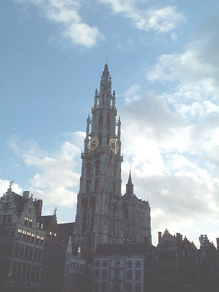 Cathedral in Antwerp 1