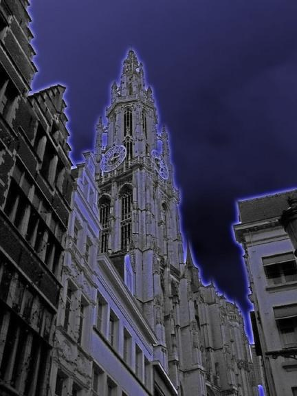 Cathedral in Antwerp 4 F