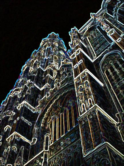 Cathedral in Antwerp 5 D