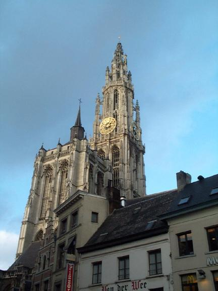 Cathedral in Antwerp 6