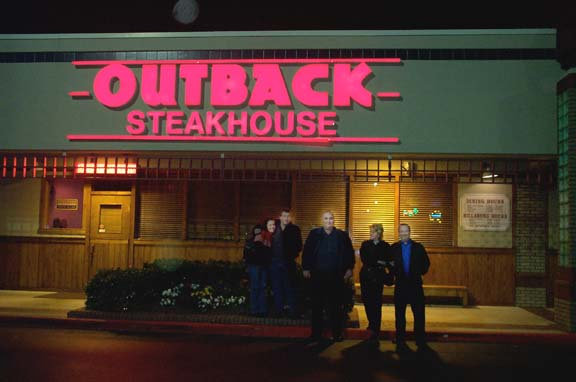 Outback Steakhouse 14 Jan 6