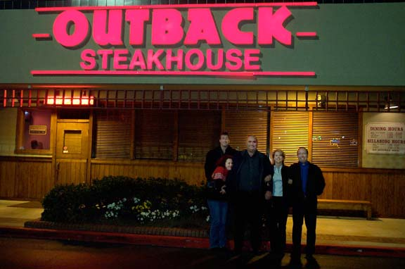 Outback Steakhouse 14 Jan 7
